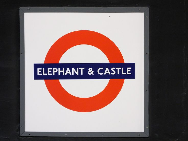 Image result for tube sign elephant and castle