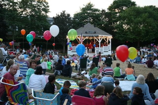 chatham town band concerts Friday nights