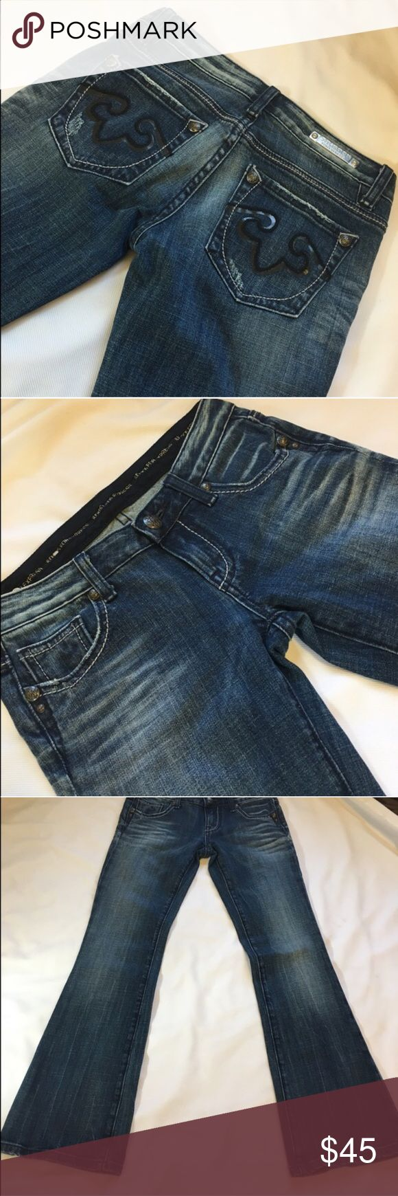 """🆕Express Rerock NWOT Jeans 0S Gorgeous jeans, they just barely don't fit me :(. $95 new. Zero short so perfect for someone 5'3"""" - 5-6"""" i love this brand of jeans, i get compliments and they are really high quality, these just never fit. So now you get to love them!                                                                         🔹Jeans medium wash 🔹Size: 0s 🔹new without tags 🔹Smoke free house.  🔹Fragrance free home. 🔹No trades please. 🔹Make an offer, bundle for 20 or 30% off…"""