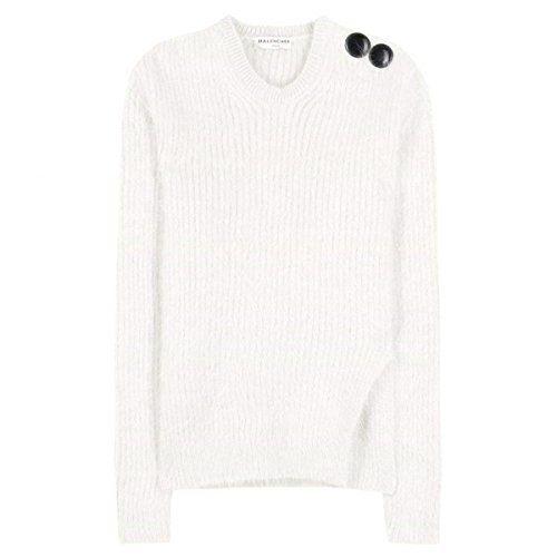 (バレンシアガ) Balenciaga レディース トップス ニット・セーター Angora-blend sweater 並行輸入品  新品【取り寄せ商品のため、お届けまでに2週間前後かかります。】 商品番号:hb4-p00147186