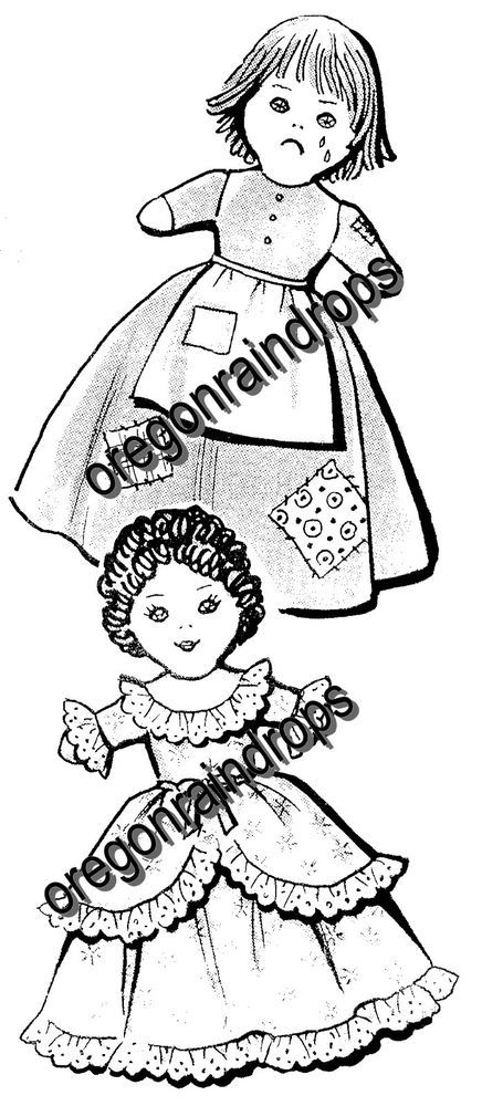Knitting Pattern For Upside Down Cinderella Doll : 17 Best images about Topsy Turvy Dolls on Pinterest Stitching, Folk art and...