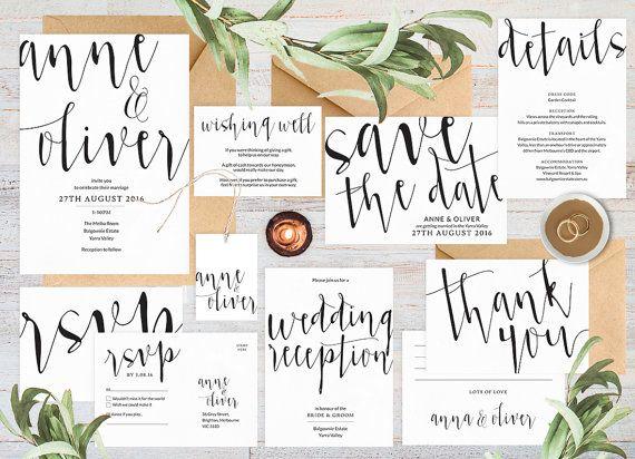 Hey, I found this really awesome Etsy listing at https://www.etsy.com/listing/266352717/wedding-invitation-set-wedding
