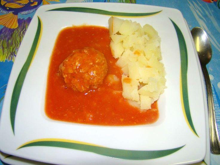 Paradicsomos húsgombóc recept