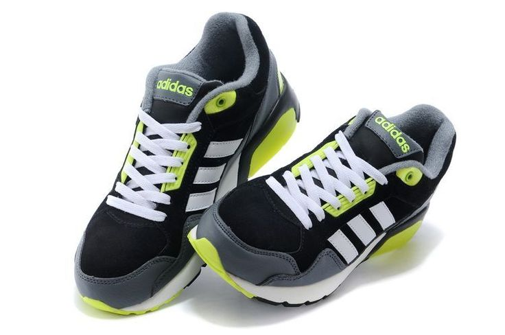 Adidas Neo Homme Noir Gris Vert