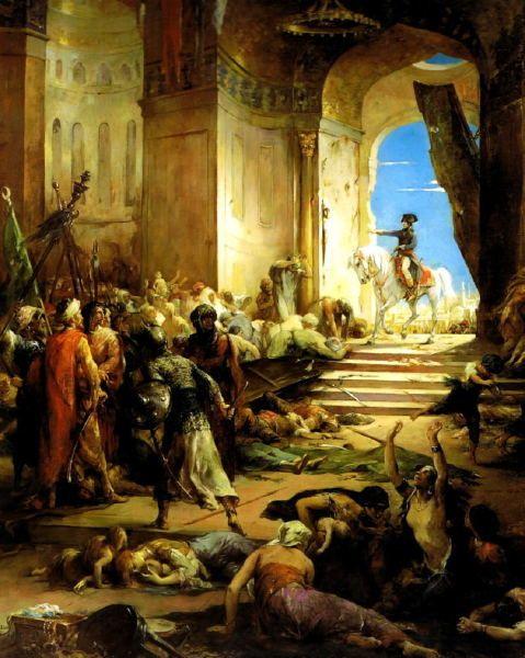 Henri Lévy : l'entrée à la grande Mosquée du Caire