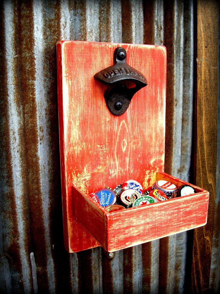 beer bottle opener and cap catcher reclaimed to do projects pinterest bottle catcher and. Black Bedroom Furniture Sets. Home Design Ideas
