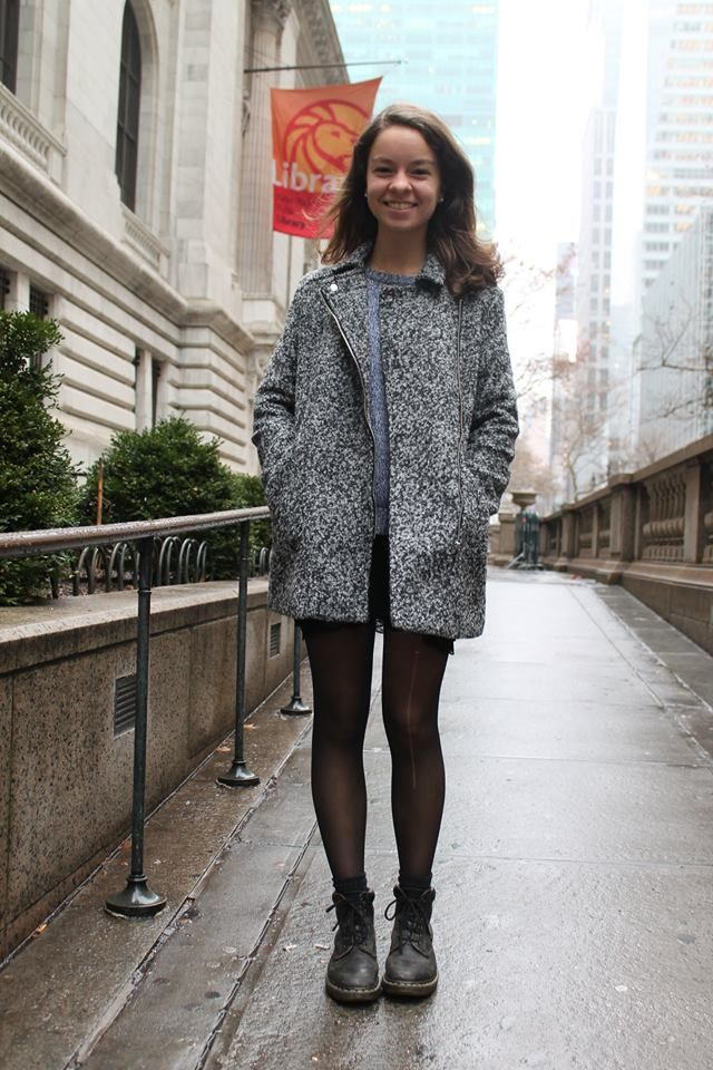 My first ever article on CollegeFashionista! despite the rain and cold, I think my pictures and first article turned out well! Check it out! #collegefashionista @cfashionista