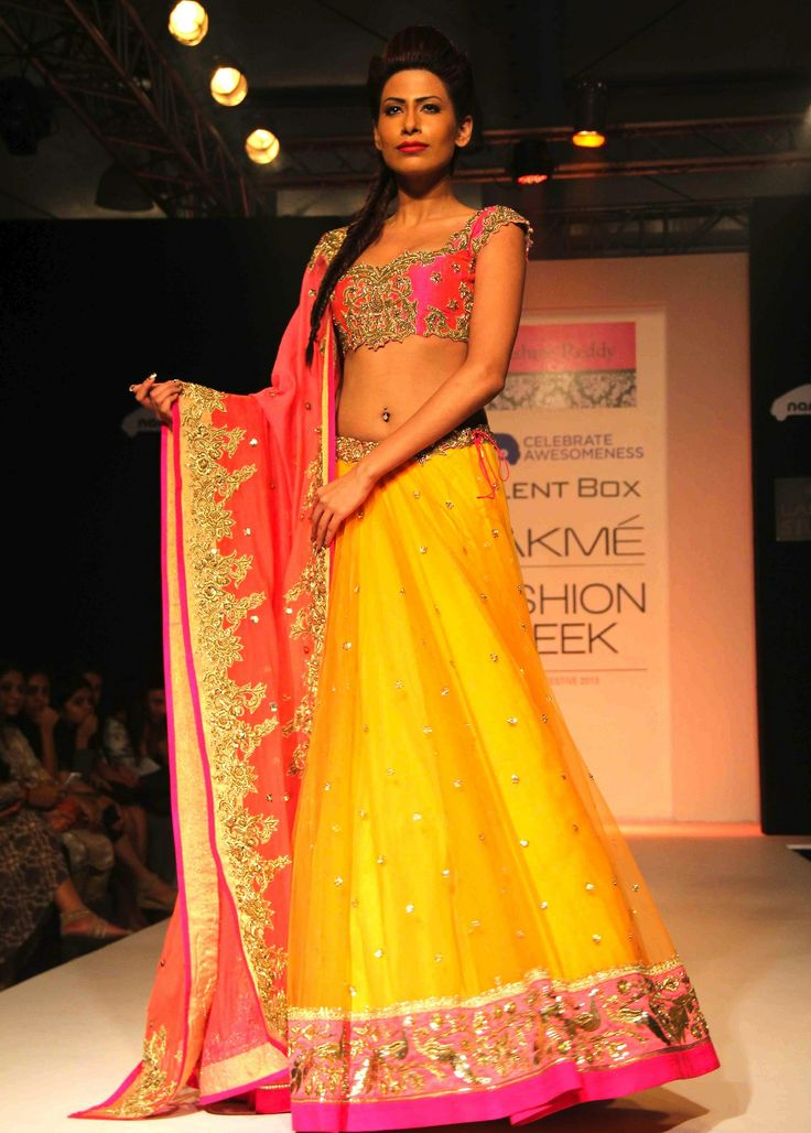 Stunning Lehenga by Anushree Reddy