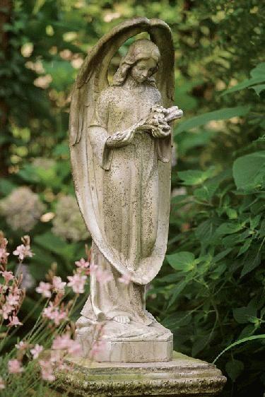 1000 Ideas About Garden Angels On Pinterest Glass