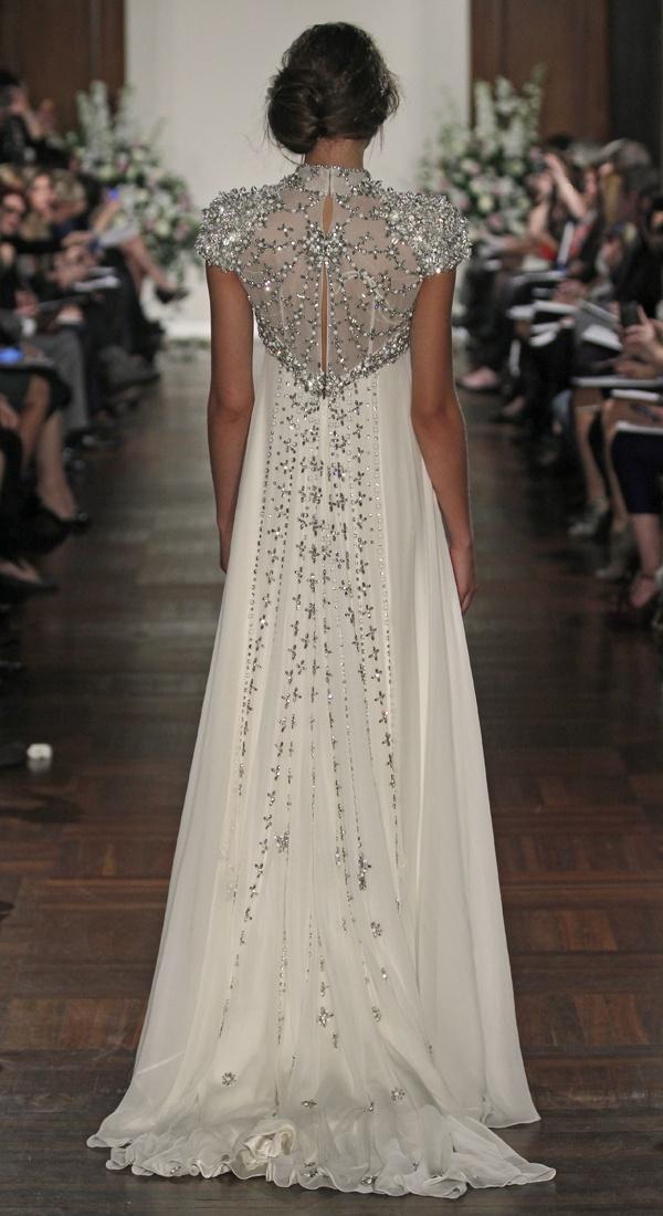 #JennyPackham Beaded #Wedding Dress - Rapunzel