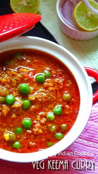 Veg Keema Curry  #indianrecipes #indiancuisine #vegkeema #indianfood #indiancurry #soyairecipes #vegetarian #soya #granules #foodblogger #yummy #indiancurryrecipe #vegetarian #vegrecipe #curryrecipe #recipes