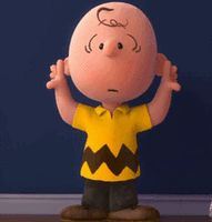 charlie brown snoopy danser la danse des canards dancing Image, animated GIF