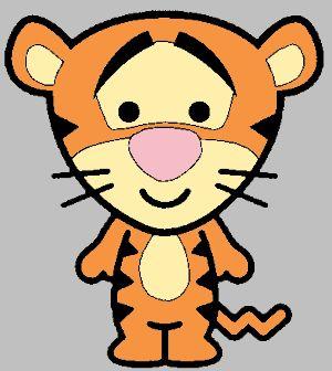 tiger- chaveiro turma do pooh