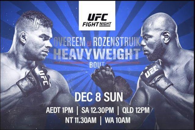 شاهد يو إف سي يحارب ليلة على إي إس بي إي أوفيريم ضد روزيسترويك 12 7 19 بث حي كامل القتال 7 ديسمبر 2019 في واشنطن العاصمة Ufc Fight Night Ufc Fight Night