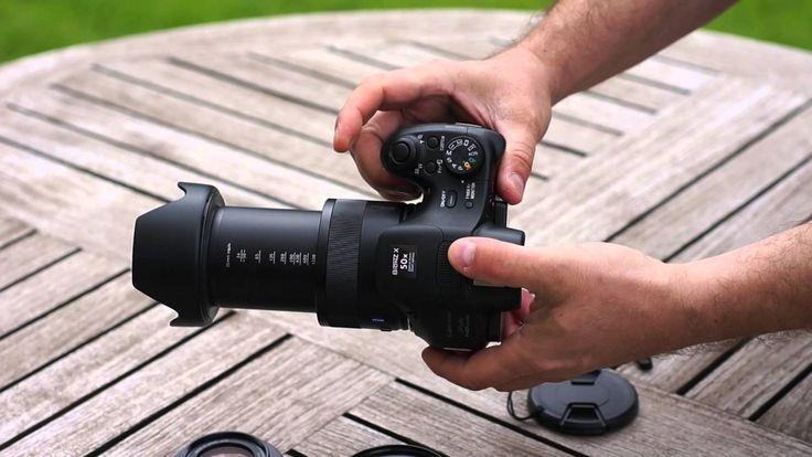 !!! Sony DSC HX400V oder HX300 Adapterring und Gegenlichtblende mit Bajo...