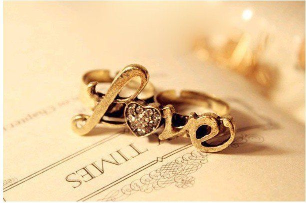 pierścionek love