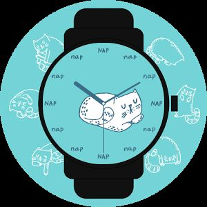 Cats illustrations by Saratelka. #cats #nap #sleep #doodle #analog #watchface #smartwatch #wearable #androidwear #lggwatchr #moto360 #design #apparel