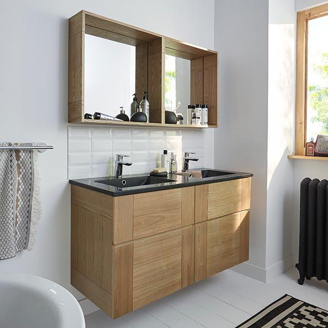 Miroir castorama meuble de salle de bains fr ne 120 cm essential ii 740 e - Miroirs salle de bain castorama ...