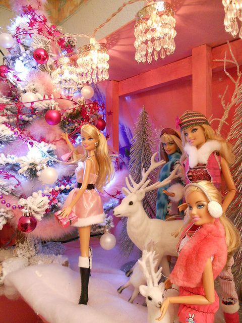 Best 25+ Christmas barbie ideas on Pinterest   Barbie barbie, Pink ...