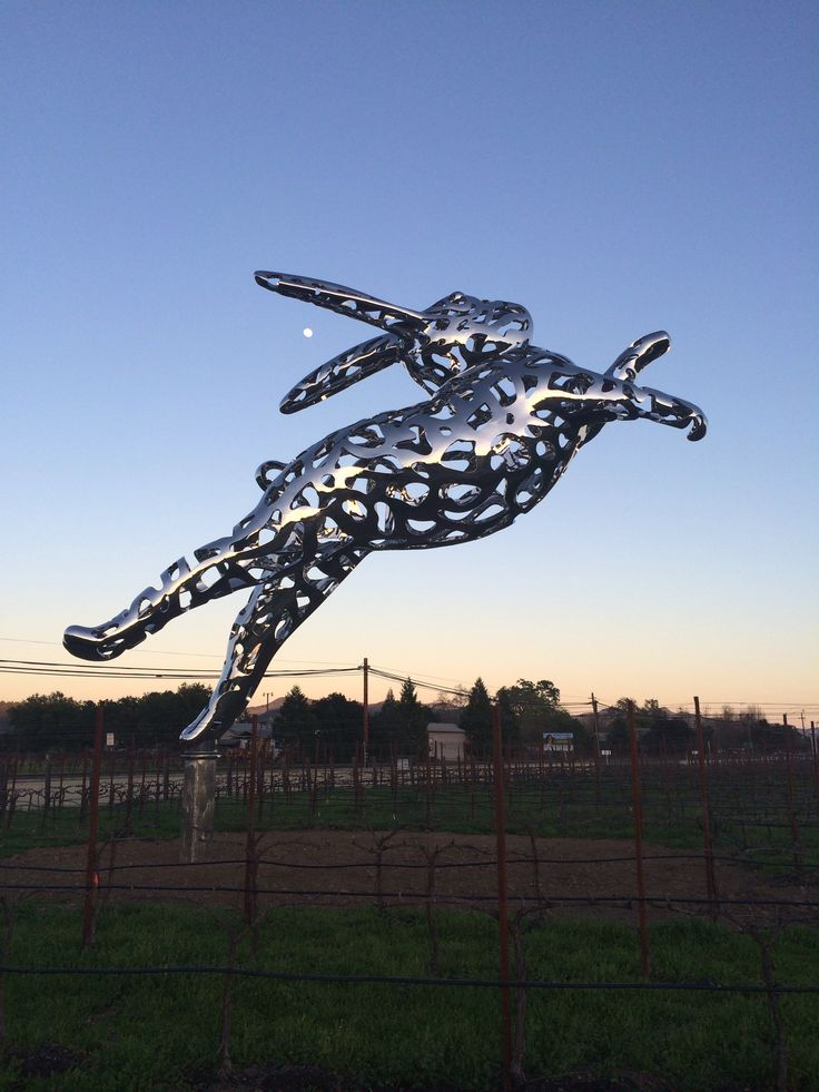 Hall Winery, Napa Valley They have the best parties!  Their Cabernet cookoff is super fun.   Check out their garden sculptures too!