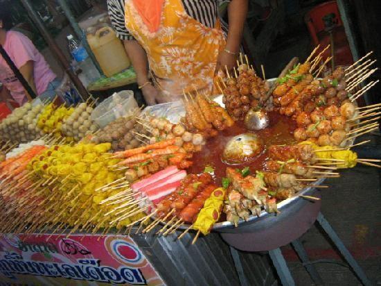 Phuket Town Night Market: Street food - Phuket, Thailand
