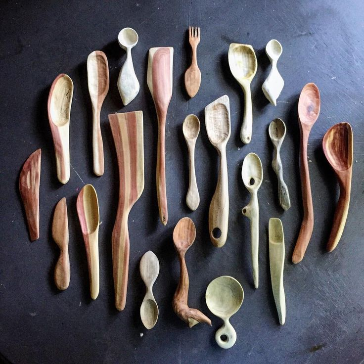 Same bunch #atlmakers #handcarved #woodenspoon