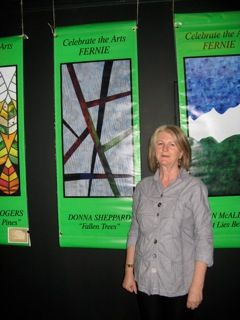 Standing by my Banner Fallen Trees 2013