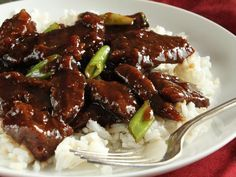 P. F. Chang's Mongolian Beef.  Very good. Not too hard. Used cube steak, but any beef would work. Added onions, chilli flakes and some cornstarch to sauce. Sauted brocolli and added in at end. Yum!