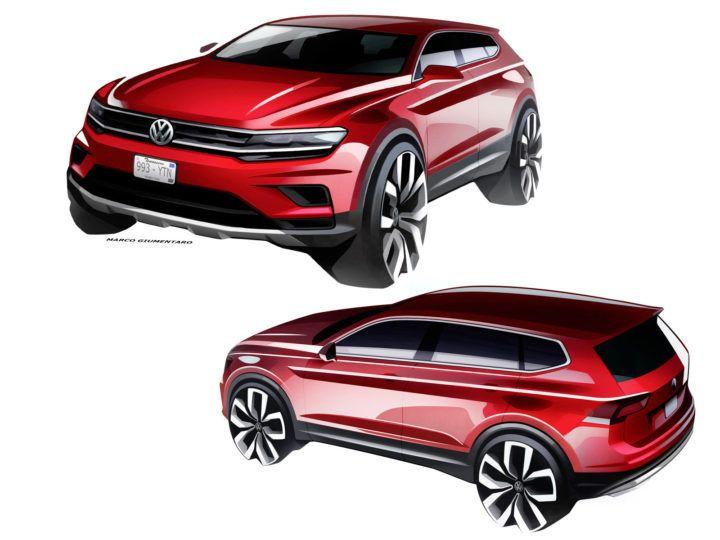 Volkswagen Tiguan Allspace preview