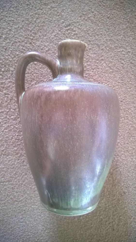Unusual Vintage Glazed French (?) Jug