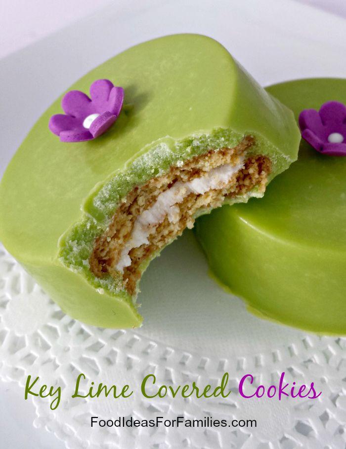 Key Lime Covered Golden Oreo Cookies via @FamilyFunFood #oreo #keylime ...