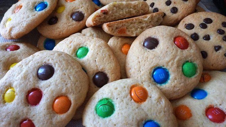 Печенье американское с m&m's/Как создали m & m's/ Cookies with m & m's