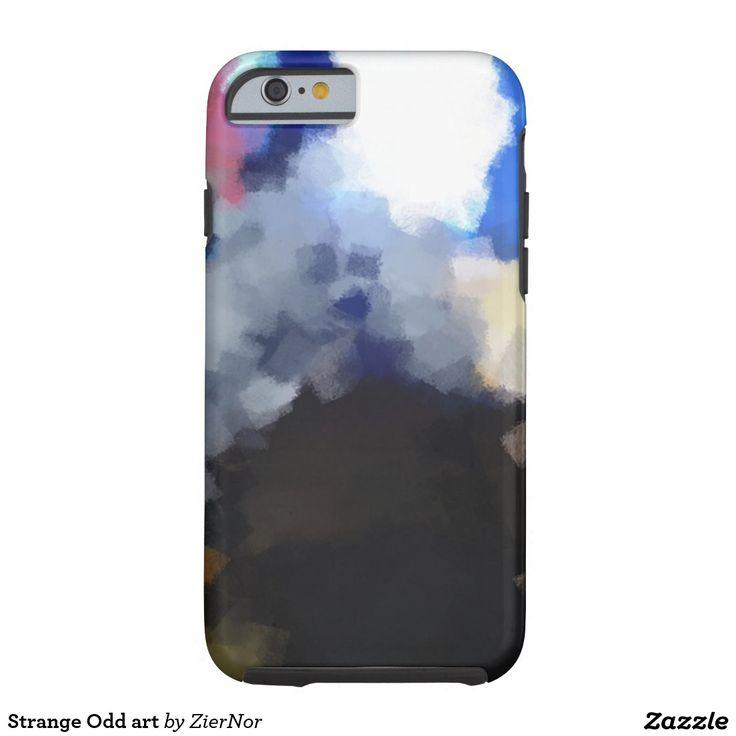 Strange Odd art Tough iPhone 6 Case