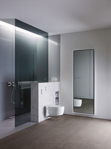 Successful combination of aesthetics and technology wins the Geberit AquaClean Mera shower toilet a Red Dot Design Award 2015 http://www.geberit.co.uk