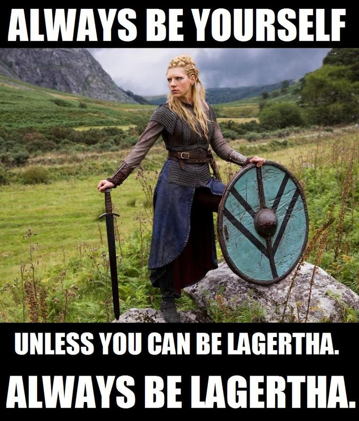 Because, seriously, who wouldn't want to be Lagertha?! (Photo Credit: History Channel, Metro-Goldwyn-Mayer Studios Inc./Rachel Tsoumbakos)