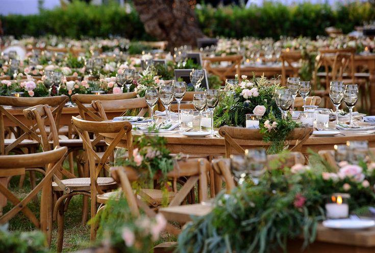 Wedding Table in Island Varkiza