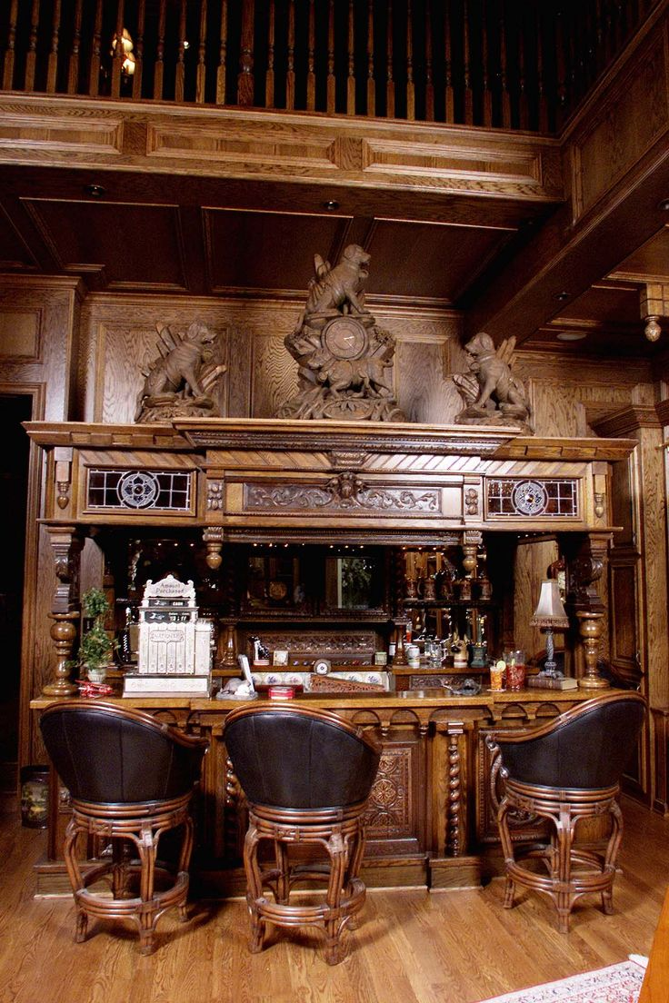 man cave irish beautiful bar maybe changing the statues. Black Bedroom Furniture Sets. Home Design Ideas