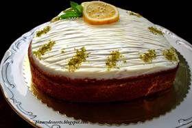 Cream Cheese Kremalı  Limonlu Kek