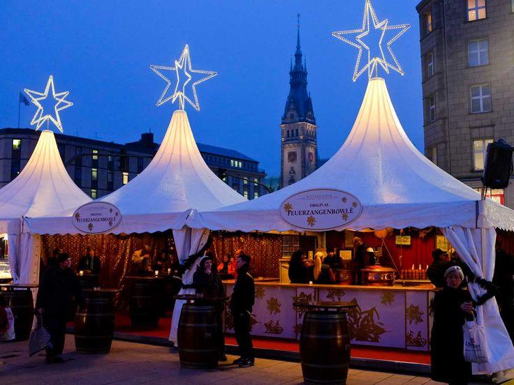 Weihnachtsmarkt am Jungfernstieg,Hamburg