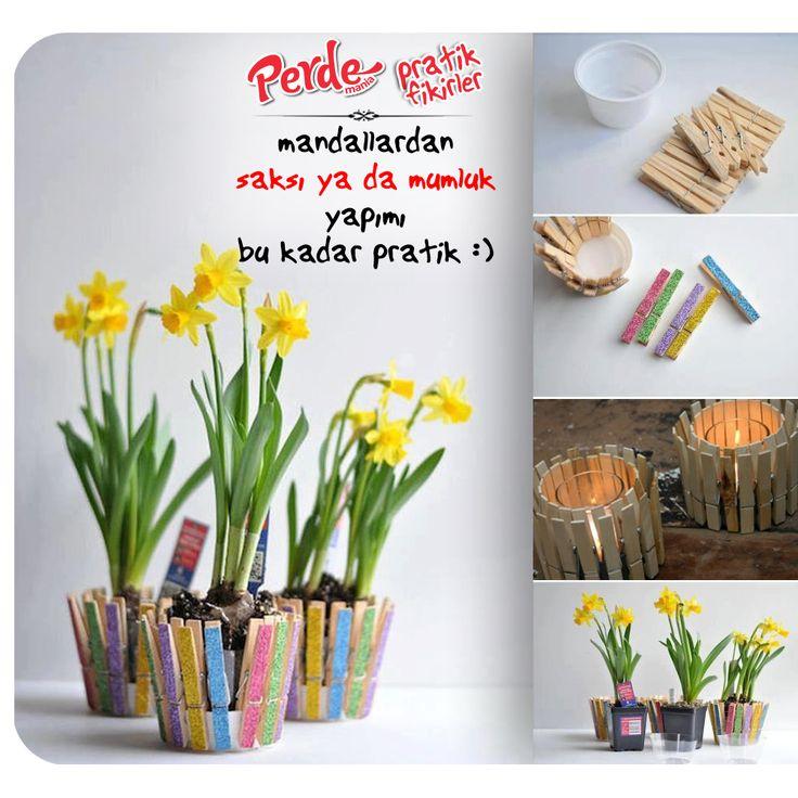 #bahar #çiçek #saksı #mum #sendeyap #pratik #fikirler #perde #mania  Fikirlerimiz kadar pratik perdelerimizi görmek için sitemizi ziyaret edebilirsiniz :) www.perdemania.com.tr