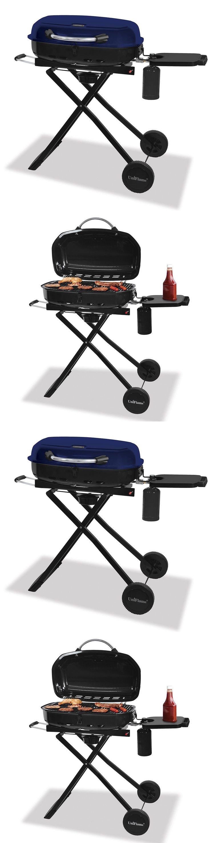 Camping BBQs and Grills 181388: Portable Gas Grill Bbq Barbeque Tail Party Propane Flame Burner Blue Rhino Btu -> BUY IT NOW ONLY: $166.95 on eBay!