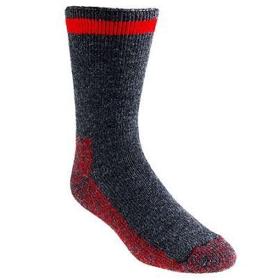 Wigwam Socks F2064 067 USA-Made Red Stripe Canada Insulated Socks