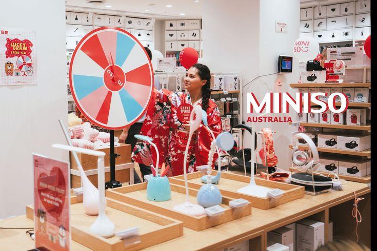 Lucky Draw in MINISO Australia!