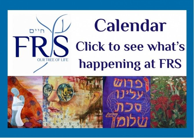 FRS The Finchley Reform Synagogue is a vibrant and diverse Reform community based in North London run monthly inclusive shabbat services for People with learning disabilities and often have special events around festivals.