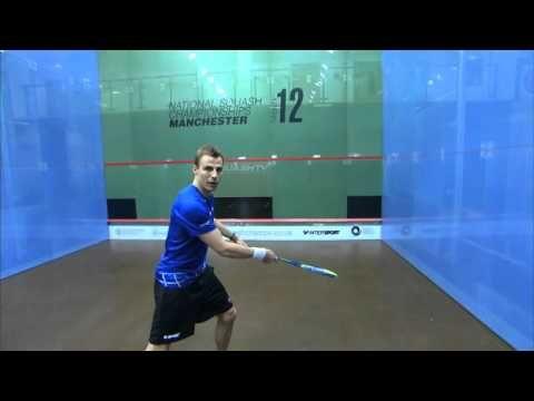 Nick Matthew Squash Coaching Tips Part 9 - The Drop Shot - YouTube