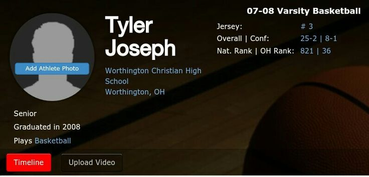 HIS OLD BASKETBALL STATS I LOVE IT