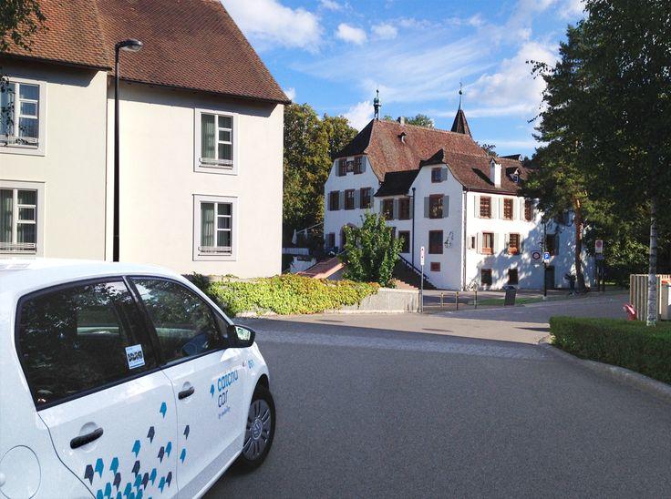 Nun ist es soweit – die Catch-Car-Zone ist um die Gemeinde Binningen erweitert. #Basel #Carsharing