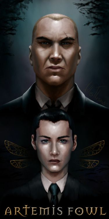 Artemis Fowl, with Butler; I'd forgotten how much I loved these books when I was younger.