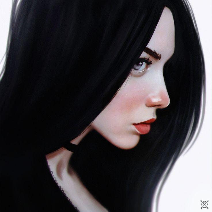 portrait, Julia Razumova on ArtStation at…