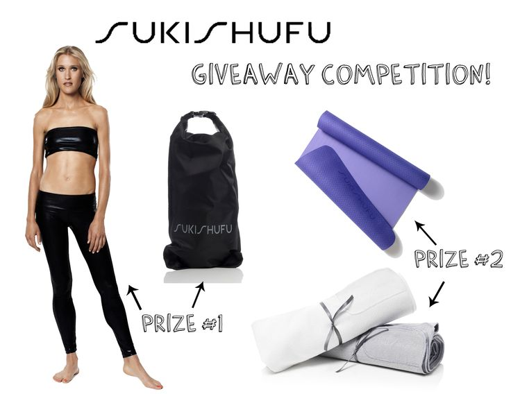 KICK-OFF THE FALL SEASON WITH THIS EXLUSIVE SUKISHUFU GIVEAWAY GYM PACKAGE HOSTED BY:  www.yourcoffeebreak.co.uk